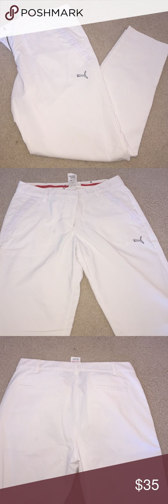 Puma sport golf pants Puma sport crop golf pants USP Dry excellent condition never worn only tried on Puma Pants Ankle & Cropped