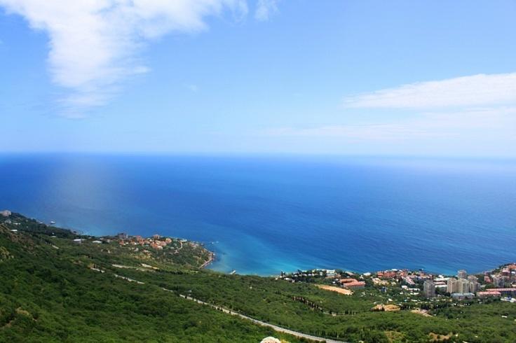 Beautiful sea, Foros, Crimea