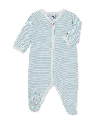 Babypyjama met milleraies-strepen voor meisjes