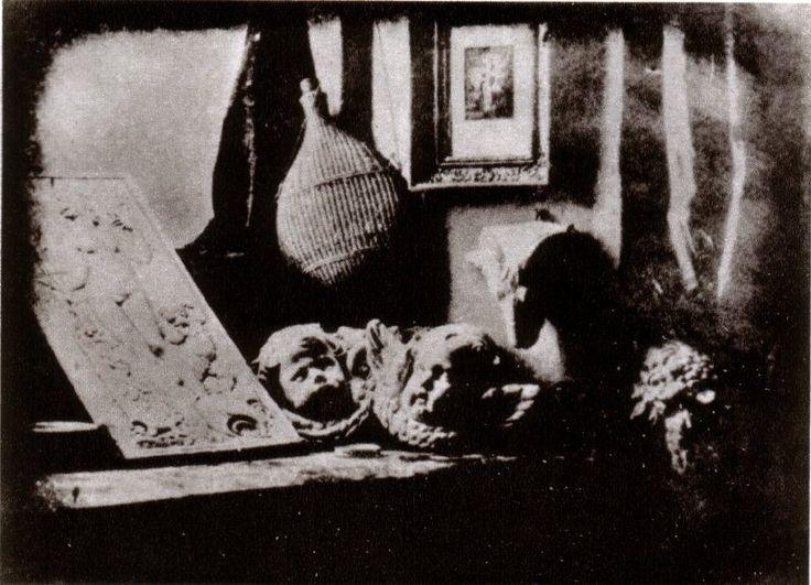 Daguerre's studio (1837)