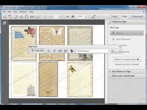 adding pdf document to word