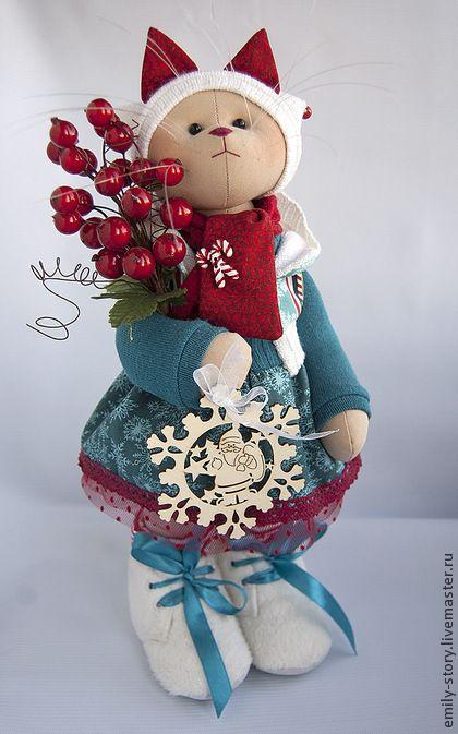 New Year 2014 handmade.  Fair Masters - handmade Kitty Joy.  Handmade.