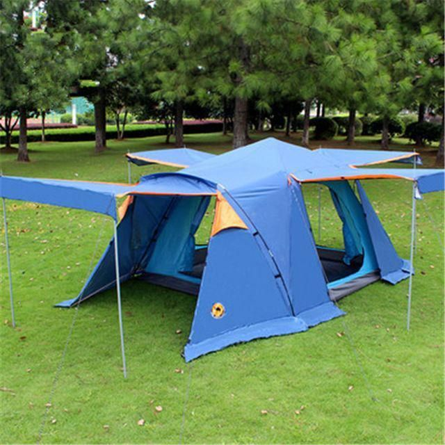 Samcamel 3-4 Person Large Family Tent Large Camping Tent Sun