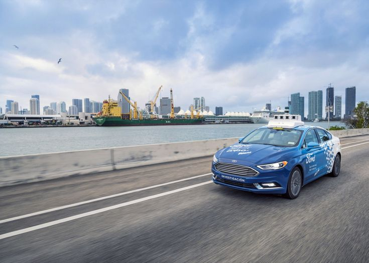 Ford has revealed the test market for its self-driving service it teased but kept under wraps back at CES in January: Miami. Will Smith bids you..