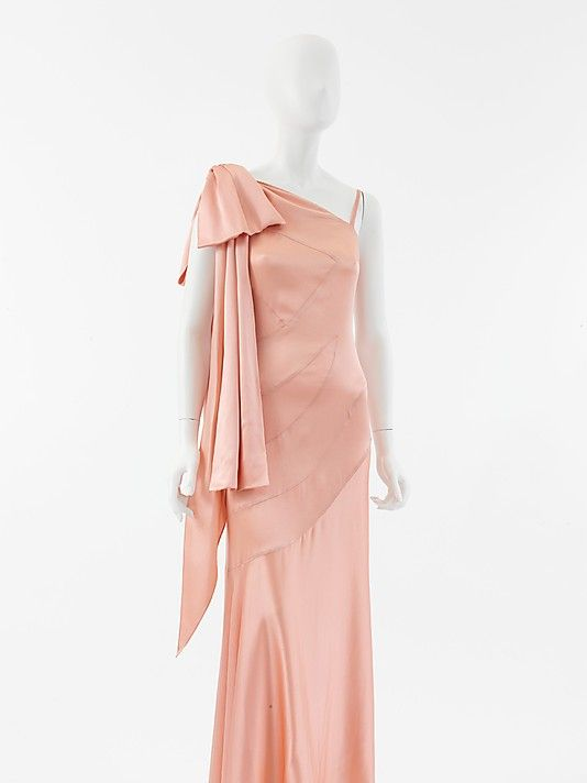 Evening Dress, House of Chanel, 1930s, French, silk