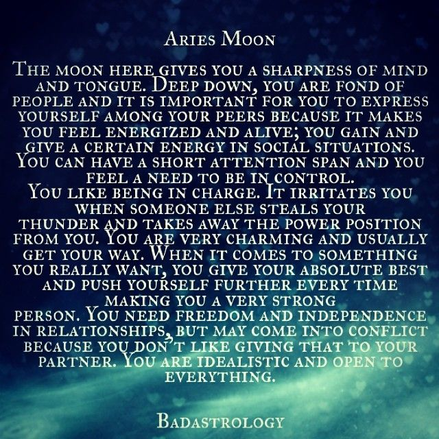 aries moon. #Zodiac #Astrology For related posts, please check out my FB page: https://www.facebook.com/TheZodiacZone