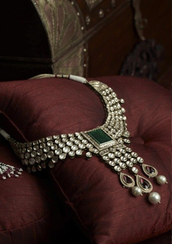 One of countless Indian wedding Jewelry designs.