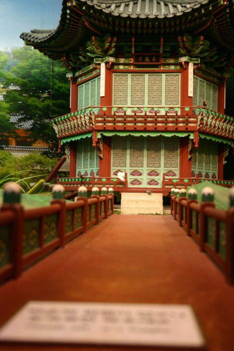 Lovely shot of traditional Korea.