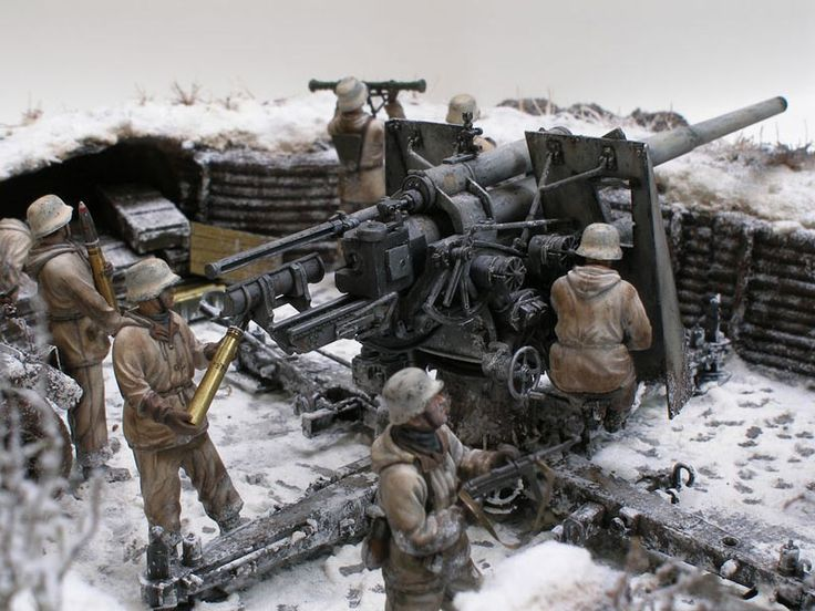 Dioramas and Vignettes: Winter episode of WWII