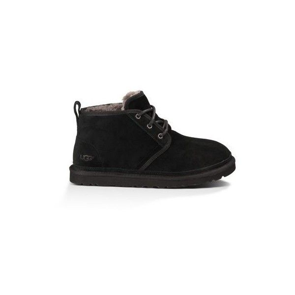 Ugg Neumel Suede Boots ($130) ❤ liked on Polyvore featuring men's fashion, men's shoes, men's boots, shoes, men - slippers, mens chukka boots, mens shoes chukka boots, mens shoes, mens wool lined boots and mens chukka shoes