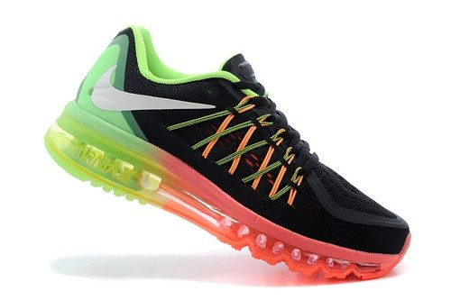 2015 new 698903-005 Air Max black light green Womens running shoes
