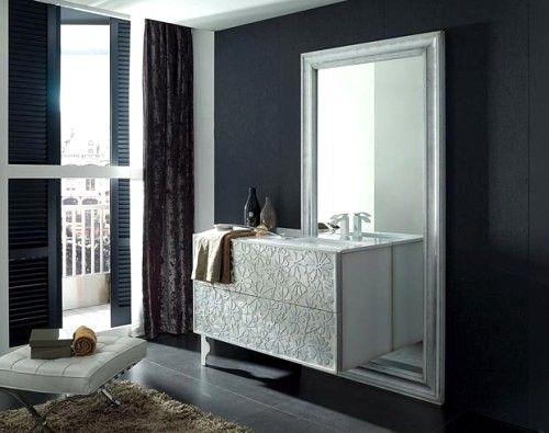 baños actuales con muebles modernos