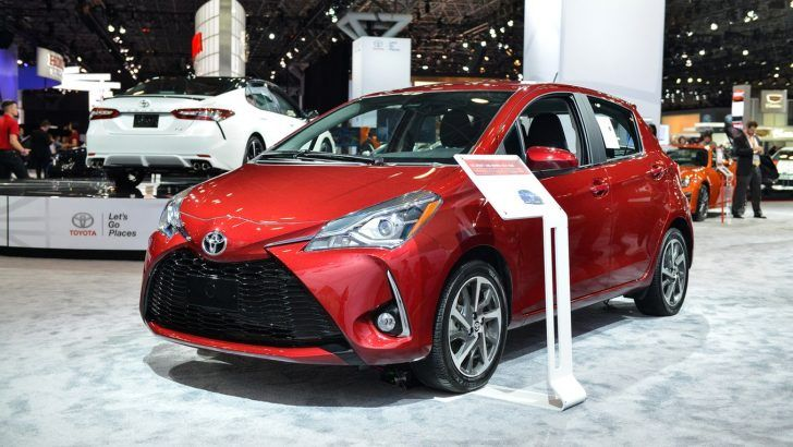 2018 Toyota Yaris Specs