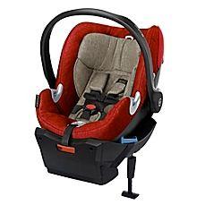image of Cybex Platinum Aton Q Plus Infant Car Seat in Autumn Gold