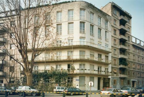 Wohngebäude Santa Rita Mailand 1938_Mario Asnago + Claudio Vender