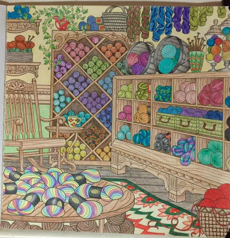 From The World Of Debbie Macomber Come Home To Color Done With Pablos And Polychromos