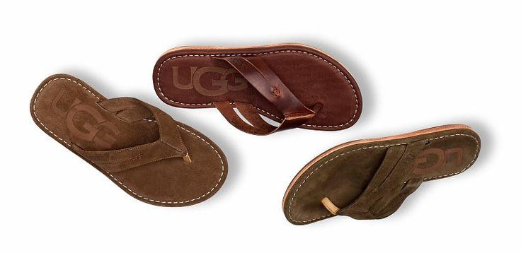 UGG® Australia's beach sandals for men – the #ViaDonato #fathersday #footwear #…