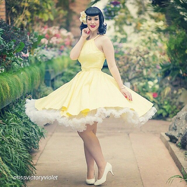 The lovely @missvictoryviolet shot by @elizabethjphotographer in our Yellow Harley dress by Pinup Couture perfect for those regions going into Summer! Shop her look now at www.pinupgirlclothing.com in sizes XS - 2X and other colorways available in sizes XS - 4X http://instagram.com/p/sP3RKgCoqM/?modal=true