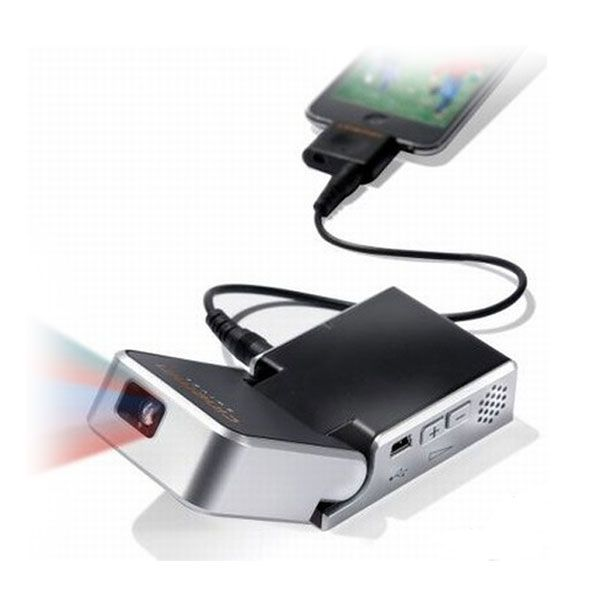 Pocket projector products i love pinterest tech for Ipad pocket projector