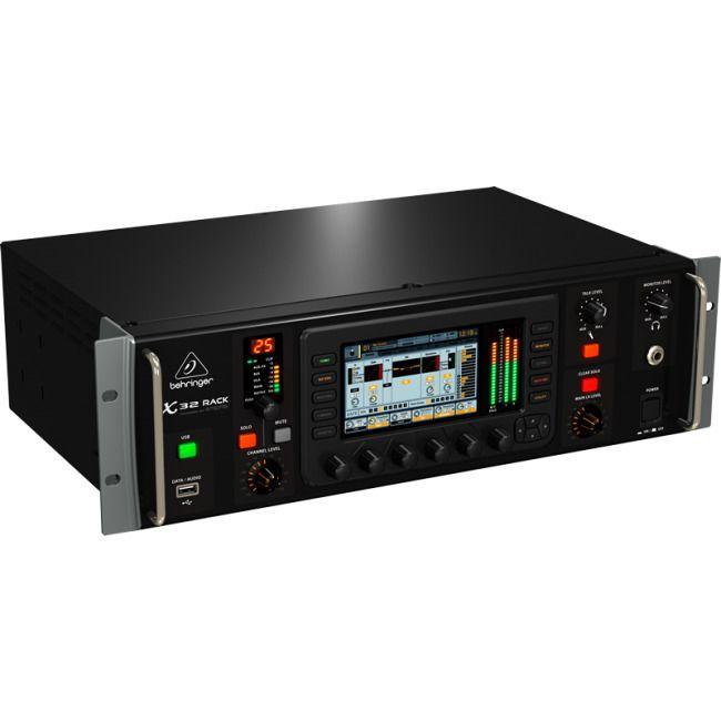 Behringer X32 40 Channel Rack Digital Audio Mixer | Buy Audio Mixers