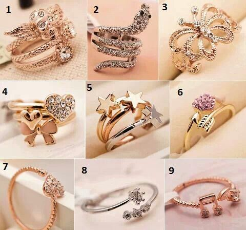 Choose your rings :)
