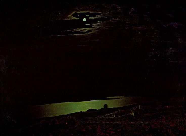 А. Куинджи. Ночь на Днепре. 1882. ГТГ