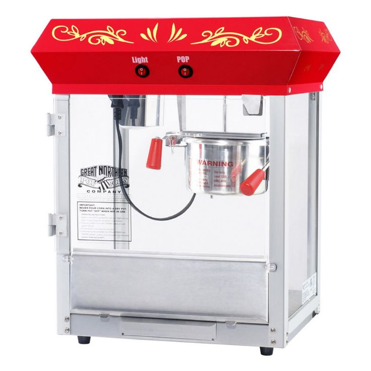 Great Northern Popcorn GNP-450 All Star Classic Popcorn Machine - Commercial Popcorn Machines at Hayneedle
