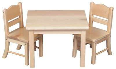 Куколка стол 2 стула комплект деревянные игрушка мебель деревянная деревянная детская, для детей