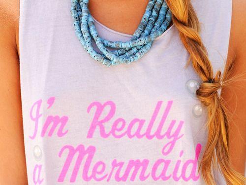 i really am: Pink Summer, Style, Clothing, Summerlovin, Summer Lovin, Closet, Things, Mermaids Shirts, True Stories