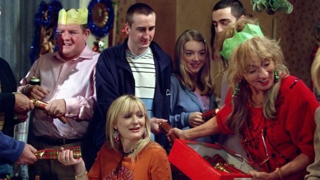 The cast of The Royle Family