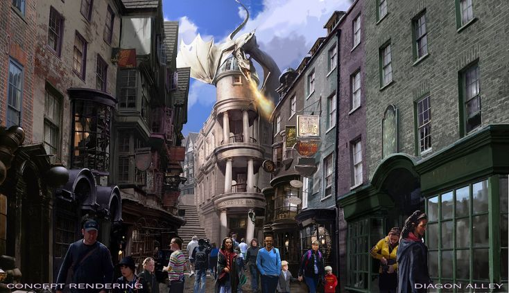 Harry Potters Diagon Alley