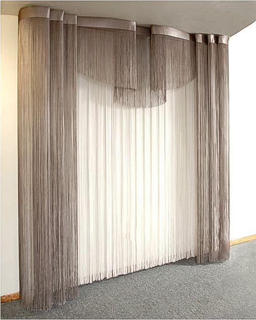 нитяные шторы - string curtains
