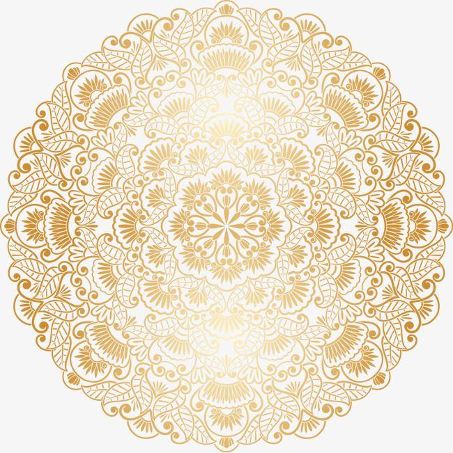 جولة الزخرفية الذهبي نمط مستدير كروي ذهبي زخرفة Png وملف Psd للتحميل مجانا Qhd Wallpaper Nature Wallpaper Decor