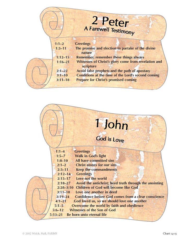 14-13 2 Peter & 1 John