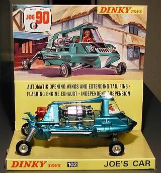Joe 90, Joe's Car, Dinky, 1967