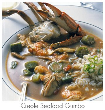 A rich, classic gumbo, one of New Orleans' much-beloved seafood dishes from Galatoire's Restaurant in New Orleans, La.   http://www.thedailymeal.com/creole-seafood-gumbo