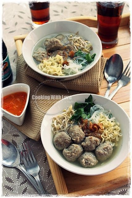 Bakso Sapi | Healthy Dinner Recipes | I ♥ Delicious Food