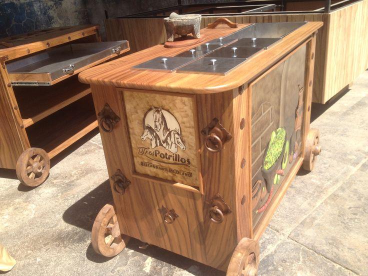 Did someone say Guacamole ??? Get your Guacamole Cart in Cardi Rustic ...