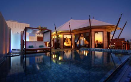 Hotel Banyan Tree Al Wadi, Zjednoczone Emiraty Arabskie
