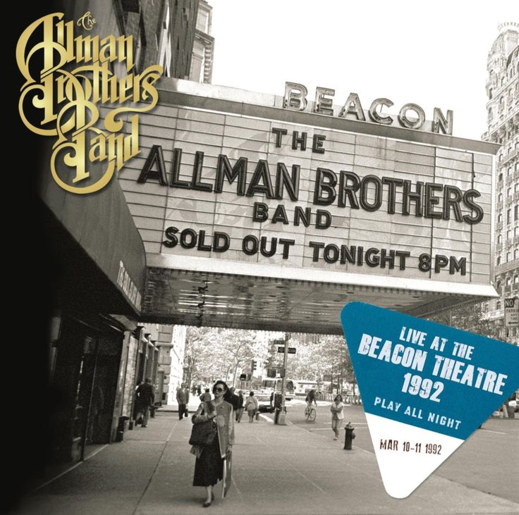 'Play All Night: Live at the Beacon Theater 1992' by The Allman Brothers