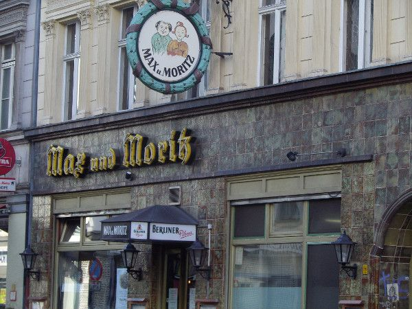 Max und Moritz, old hostelry - 1902, Kreuzberg 36, Berlin