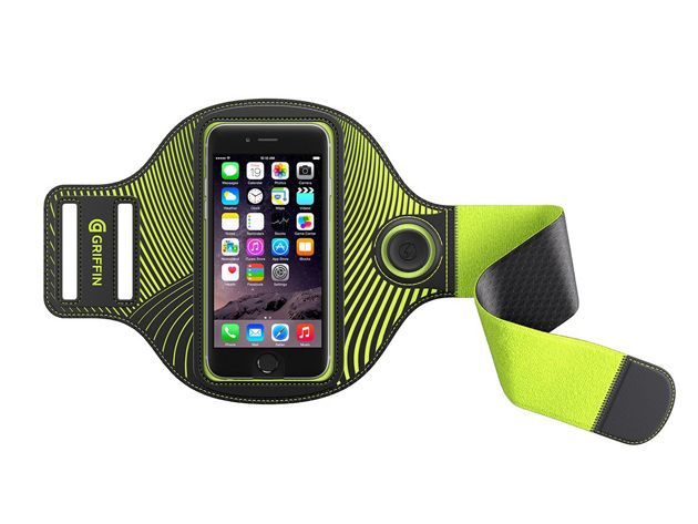 Light Up Your Workout with This LED-Lit Smartphone Armband