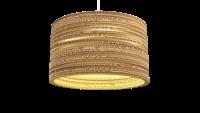 Cardboard lamp. Dutch design