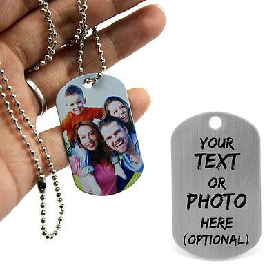 Personalised #metal military army dog tags id tag & #necklace, #engraved gift,  View more on the LINK: http://www.zeppy.io/product/gb/2/391351396571/