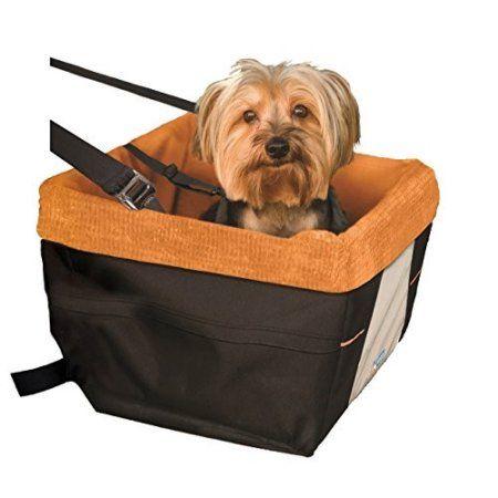 Kurgo Skybox Dog Booster Seat 30 Lbs Black Orange Walmart Com Pet Booster Seat Dog Seat Dog Car Seats