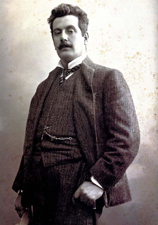 What is it with this f**king brilliant Italian composers? Giacomo Puccini by Mario Nunes Vais Turando, Madama Butterfly (sappy as hell, still brings me to tears), Tosca....