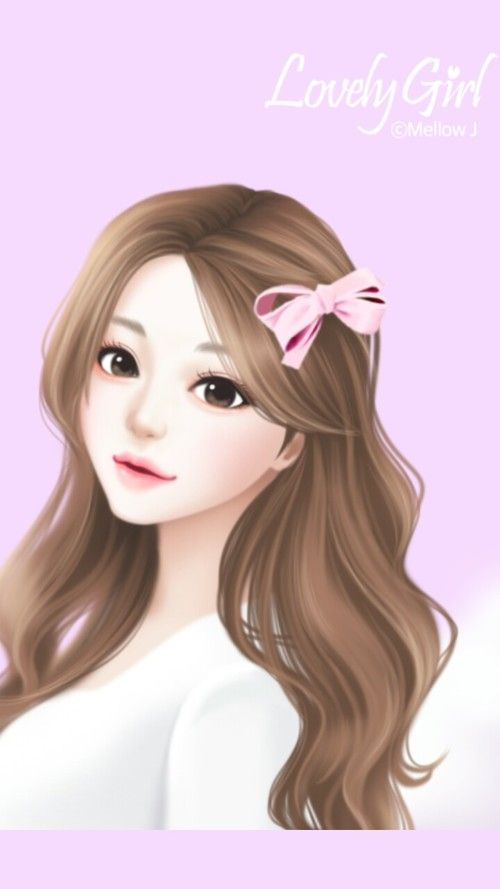 Art Art Girl Background Beautiful Beautiful Girl Beauty Cartoon Cute Art Design Drawing
