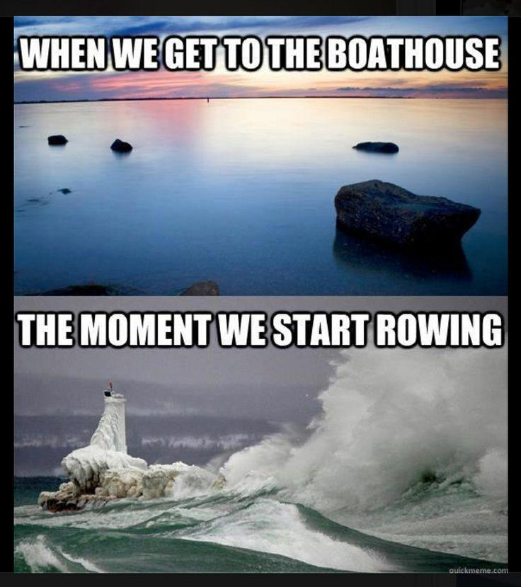 Rowing (crew) problems