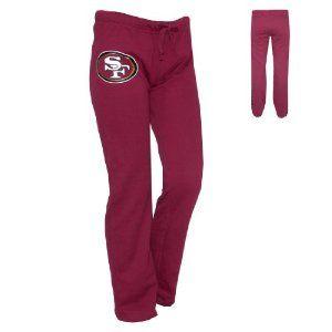 WOMENS Pink Victoria's Secret NFL San Francisco 49ers Cotton Sleepwear / Pajama Pants - Wine Red by Victoria's Secret. $34.99