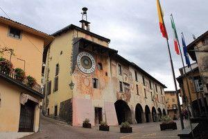 Piazza dell'orologio - Clusone - Italy
